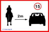 HRSA - Safe distance poster