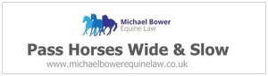 Michael Bower Equine Law Car Sticker